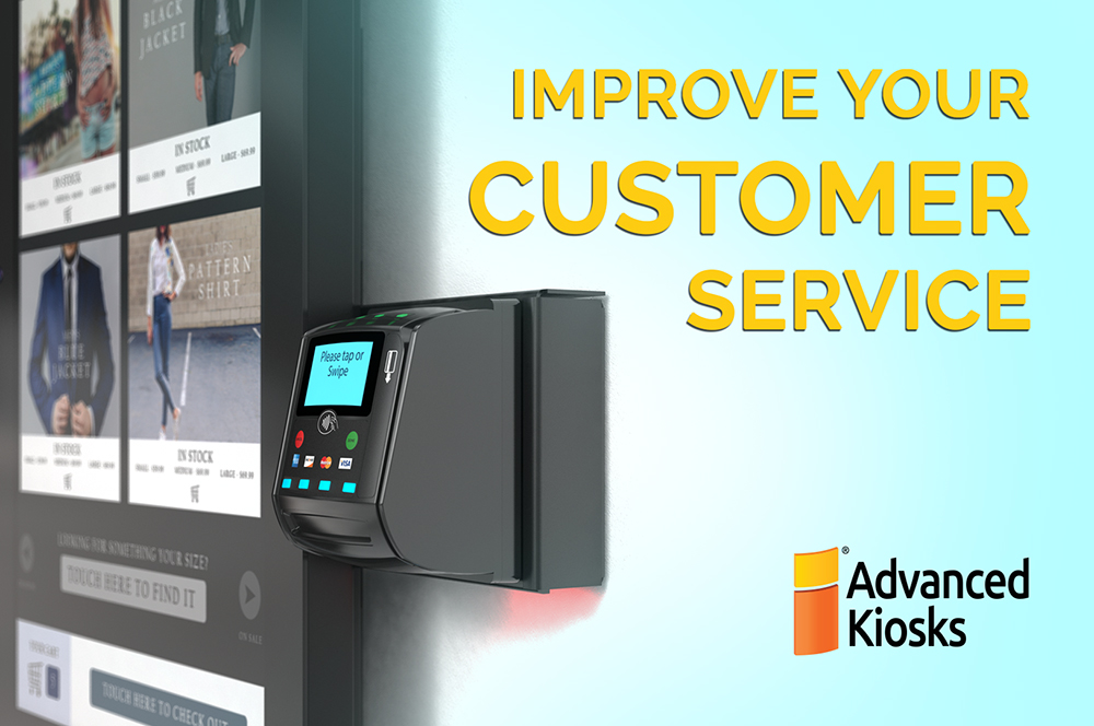 Wall-mounted kiosk – Your Dream Come True Technology